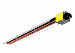 Single Stage Low Intensity Radiant Tube Heaters