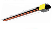 Commercial Heaters, Gas IR Tube Heaters
